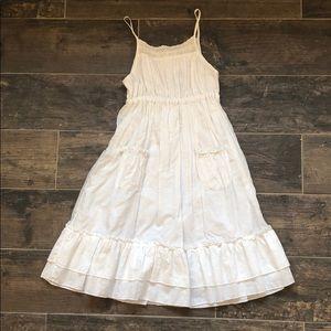 White Cotton Sundress